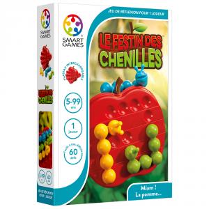 LE FESTIN DES CHENILLES, jeu intelligent de Smart Games, de 5 à 99 ans!