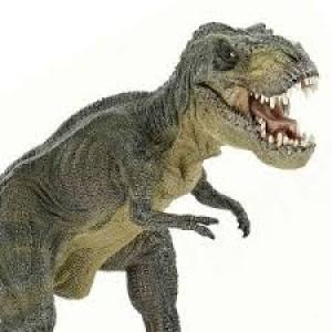 Figurine dinosaure Papo le Tyranosaure Rex  vert