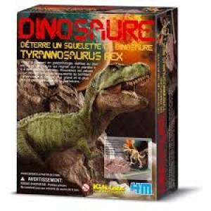 Kit de fouille dinosaure, je découvre les Tyrannosaures
