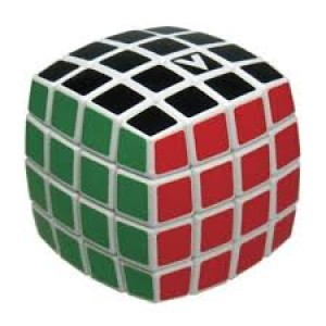 V cube 4X4, bombé