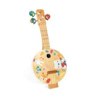 Banjo, première guitare en bois pour enfant