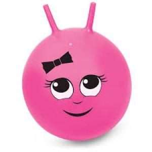 Ballon sauteur rose, pour enfant énergique!