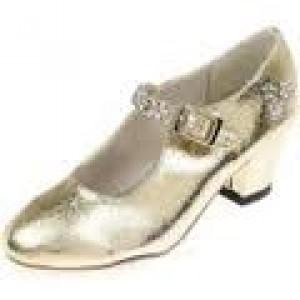 Chaussures de bal de princesse, en simili cuir de couleur rose, taille 31