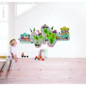 Magnéti'stick course de voitures, décoration de chambre et jeux