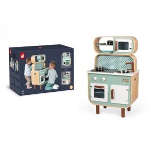 Grande cuisine Double face Reverso  en bois, la Rolls des cuisines pour enfants