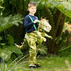 Déguisement de dinosaure à enfiler
