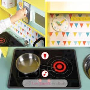Maxi Cuisine-cuisinière  moderne en bois Happy days
