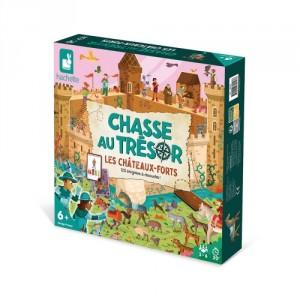 Chasse au trésor les Châteaux forts, jeu de stratégie et de rapidité