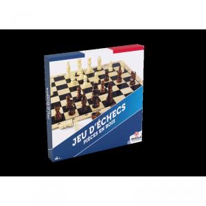 Jeu d'échecs, tout en bois, fabriqué en France