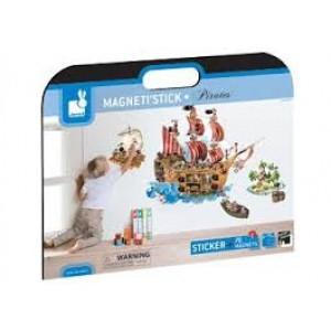 Magnéti'stick Pirates, décoration de chambre et jeux