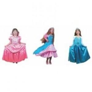 Robe de princesse à transformation. Pour enfant de 6-8 ans avec accessoires