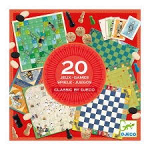 Coffret multijeux 50 jeux  traditionnels