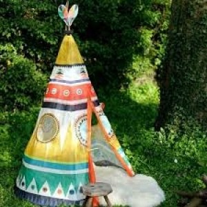 Grand  tipi d'indiens