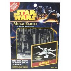 Kit de modélisme moderne  Metal Earth Star Wars X wing starfighter